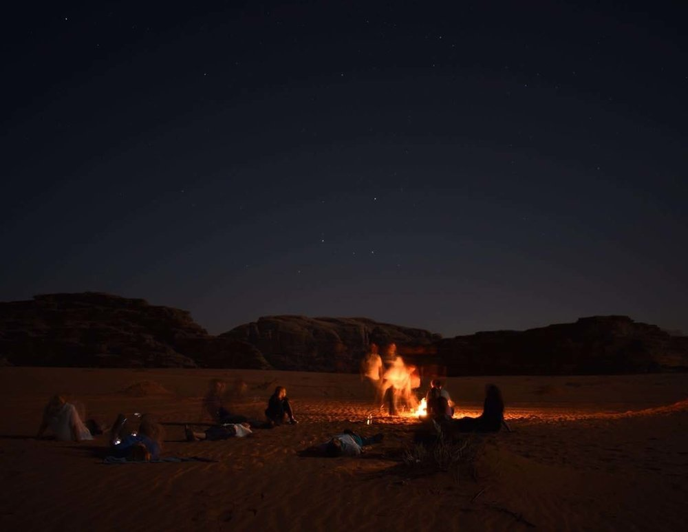 Wadi Rum, Jordan. Photo Credit: Emily Feltz,  2018