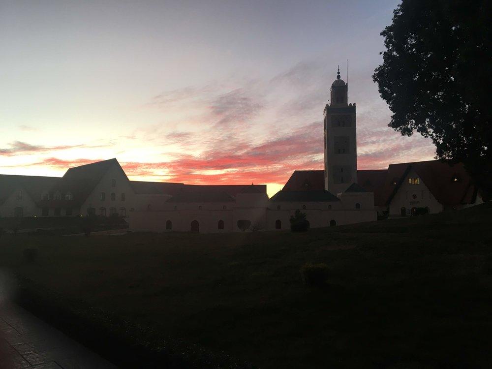Al-Akhawayn University in Ifrane, Morocco. Photo Credit: L. Fisher, Fall 2018
