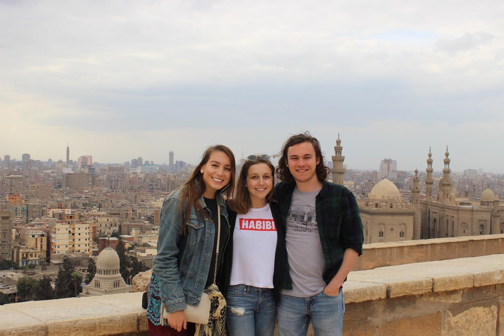 We arrived in Cairo, checked into our AirBnB, toured Tahrir Square, met up with Egyptian friends who brought us to the Citadel and so many amazing mosques and monuments. Photo credit: Arguin, 2019