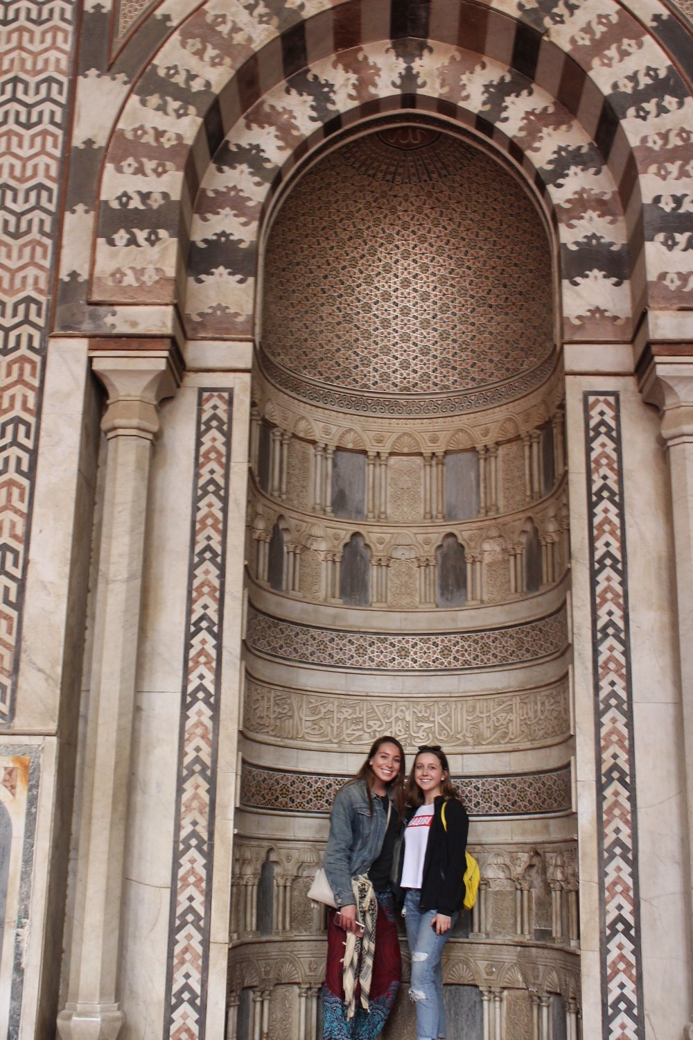 Touring Cairo on our first day. Photo credit: Arguin, 2019
