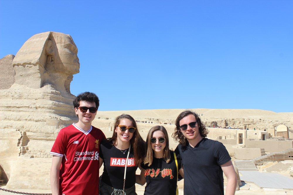 The Sphinx. Photo credit: Arguin, 2019