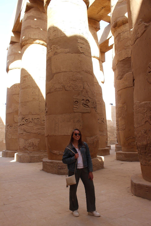 Visiting Karnak Temple. Photo credit: Arguin, 2019