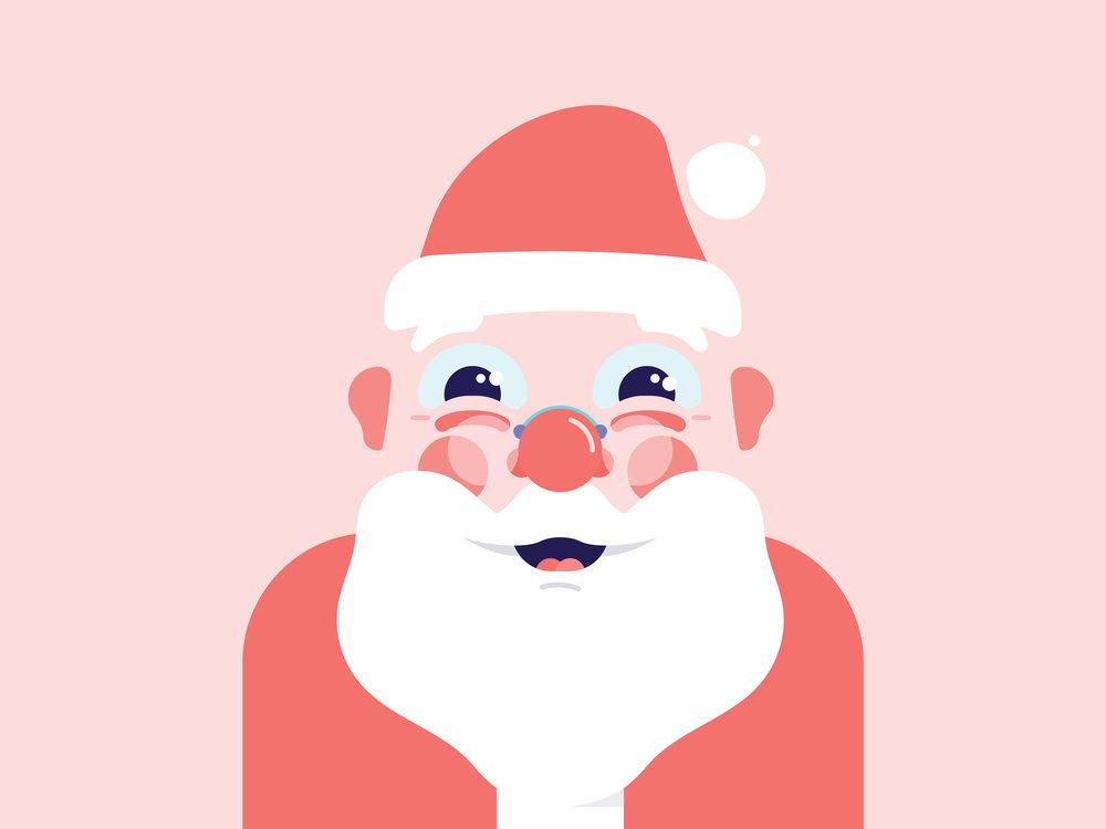 Santa Clause, Indigo Slate