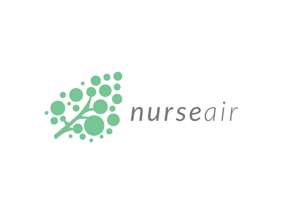 Nurse Air Logo Proposal, Sayenko Design