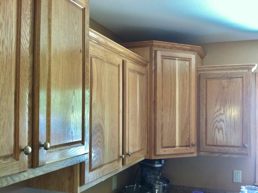 Kitchen Cabinets in White Oak