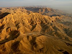 "Valley of the Queens, Egypt. In ancient times, it was known as Ta-Set-Neferu, meaning ""the place of beauty."""