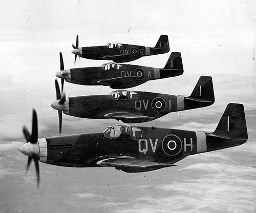 World War II era Royal Air Force planes