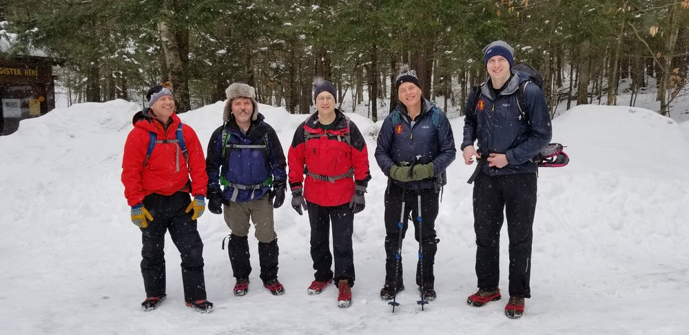 Back country rescue volunteers