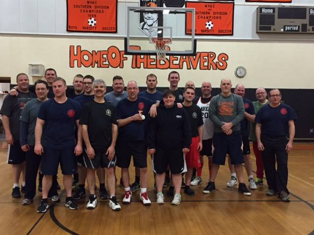 Keene and Keene Valley Fire Departments playing for a local charity event
