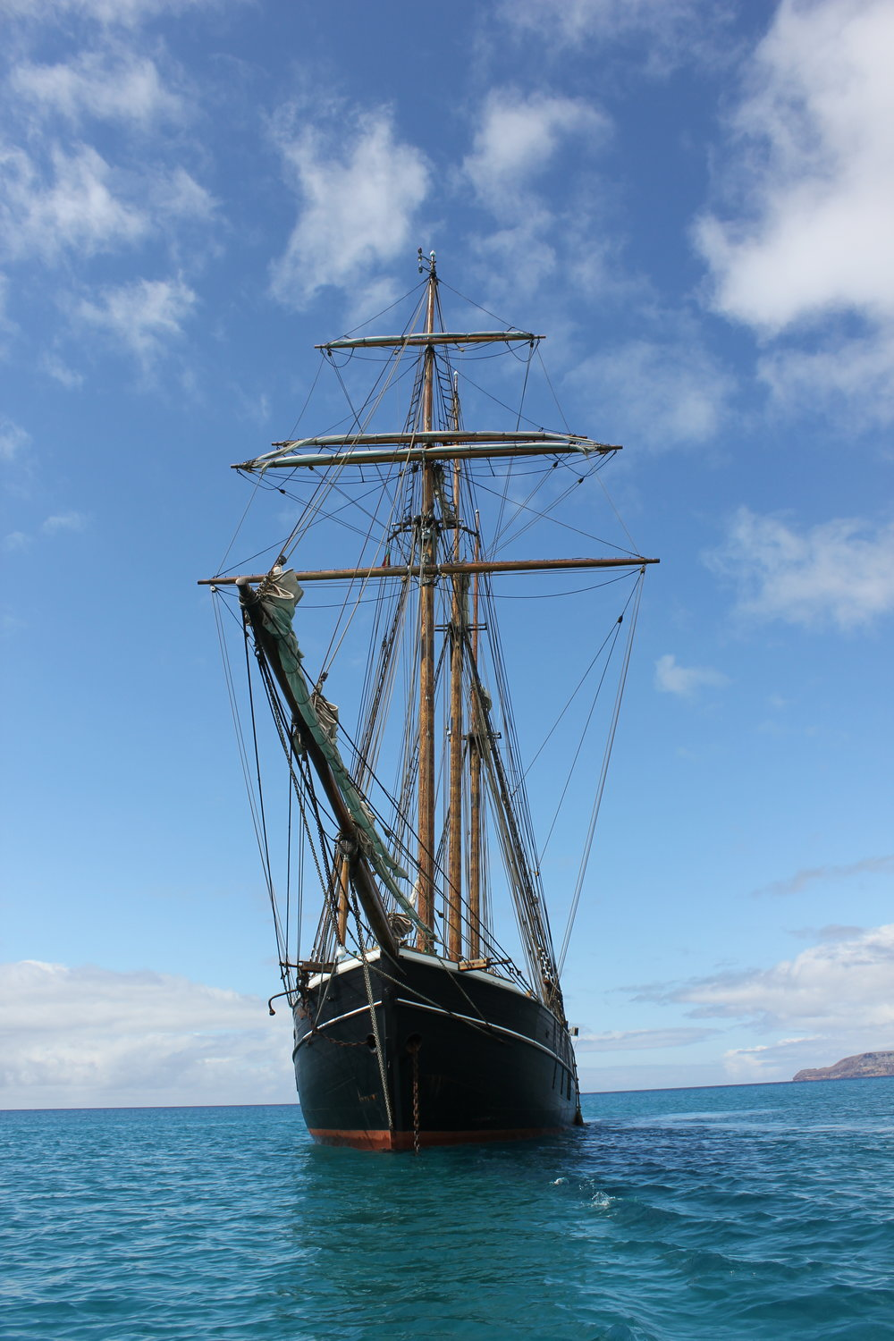 Anchored up in the bay of Porto Santo, may 2018