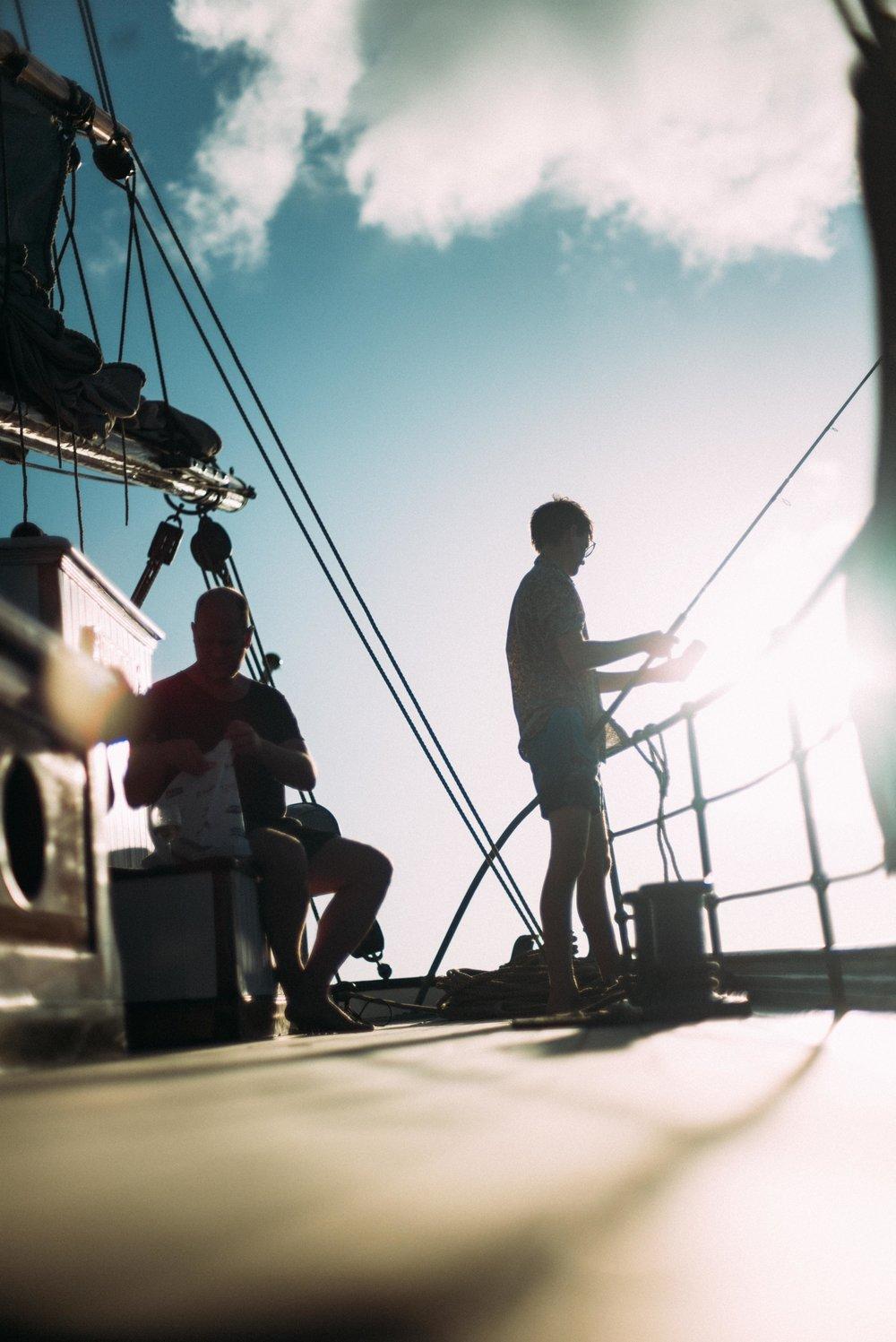 Fishing in Carriacou