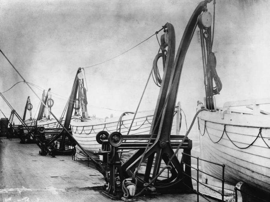 There was virtually no emergency training for the  Titanic  staff. Crewmembers had barely any knowledge of how to operate the lifeboats or how many passengers they could hold and many were launched only half full