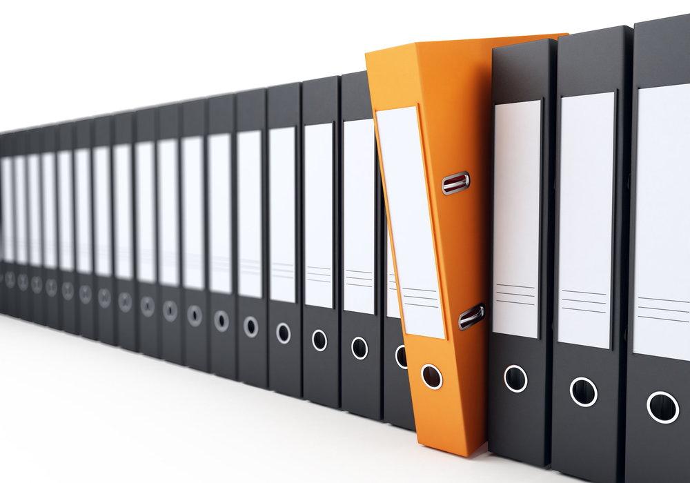 Wyobraź sobie blok jako folder wypełniony informacjami
