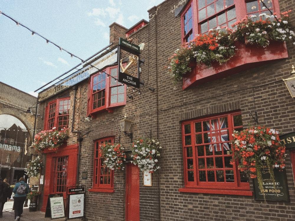 London Borough Market Flowers Pub