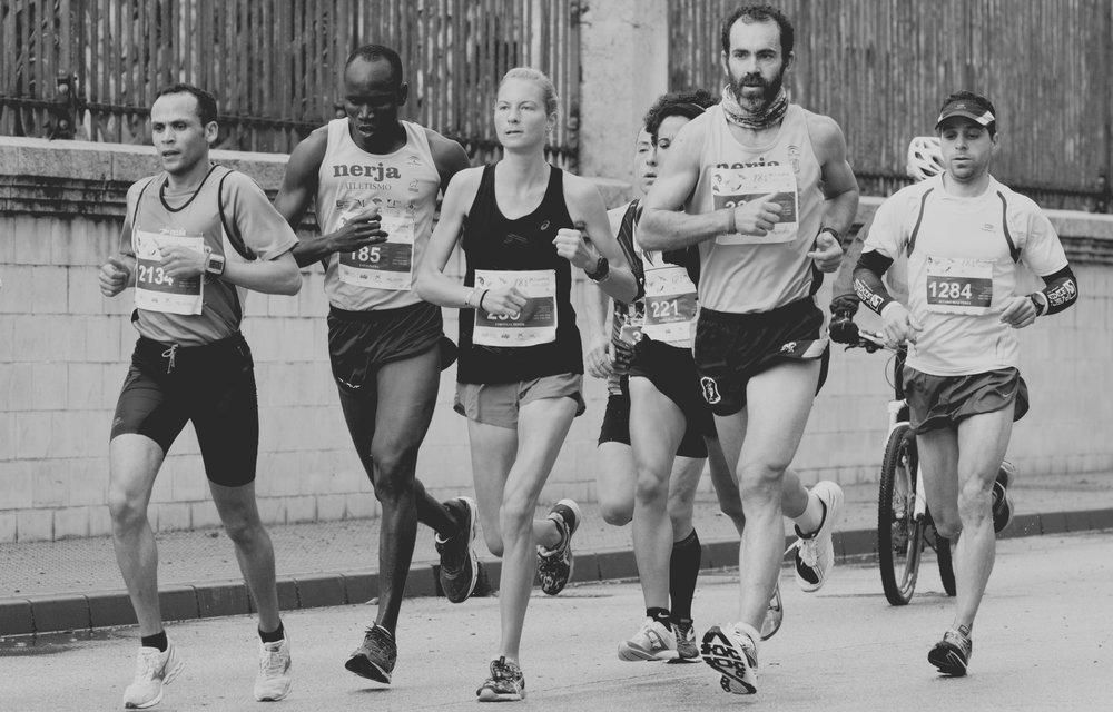 lucky running club -