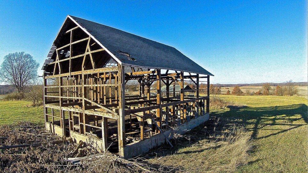 Herndon Barn - c. 1873 - Rochester, Illinois