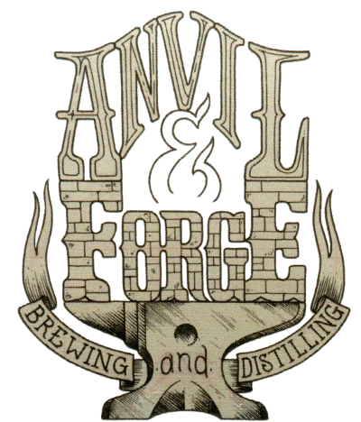 anvil and forge brewing and distilling feature wall custom woodworking illinois barn wood tables custom woodworking barn doors commercial zerkle brewing