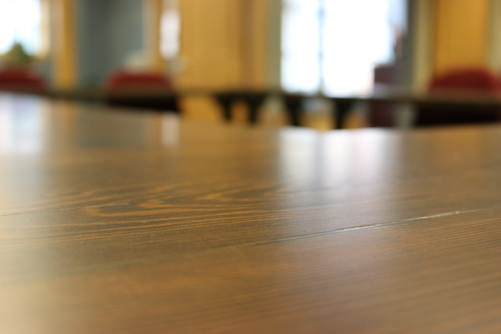 Sangamon Reclaimed Reclaimed Wood Conference tables Springfield Illinois Illinois Environmental Council.JPG