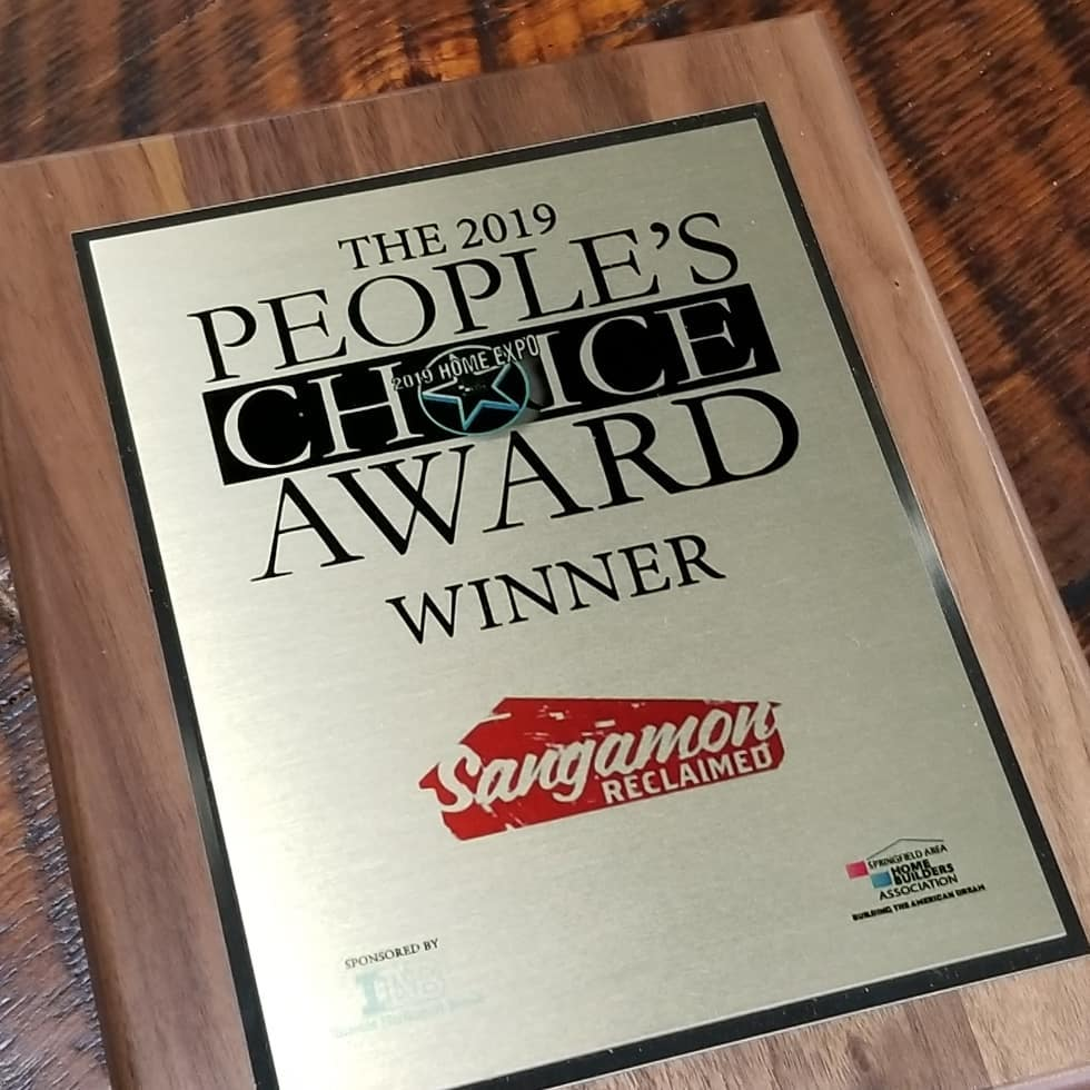 Springfield Home Builders Association Sangamon Reclaimed Springfield Illinois 2019 People's Choice Award.jpg
