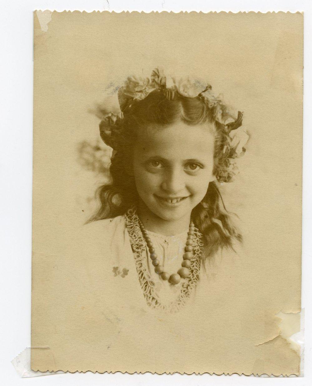 1948 - Elizaveta after the war in Kiev