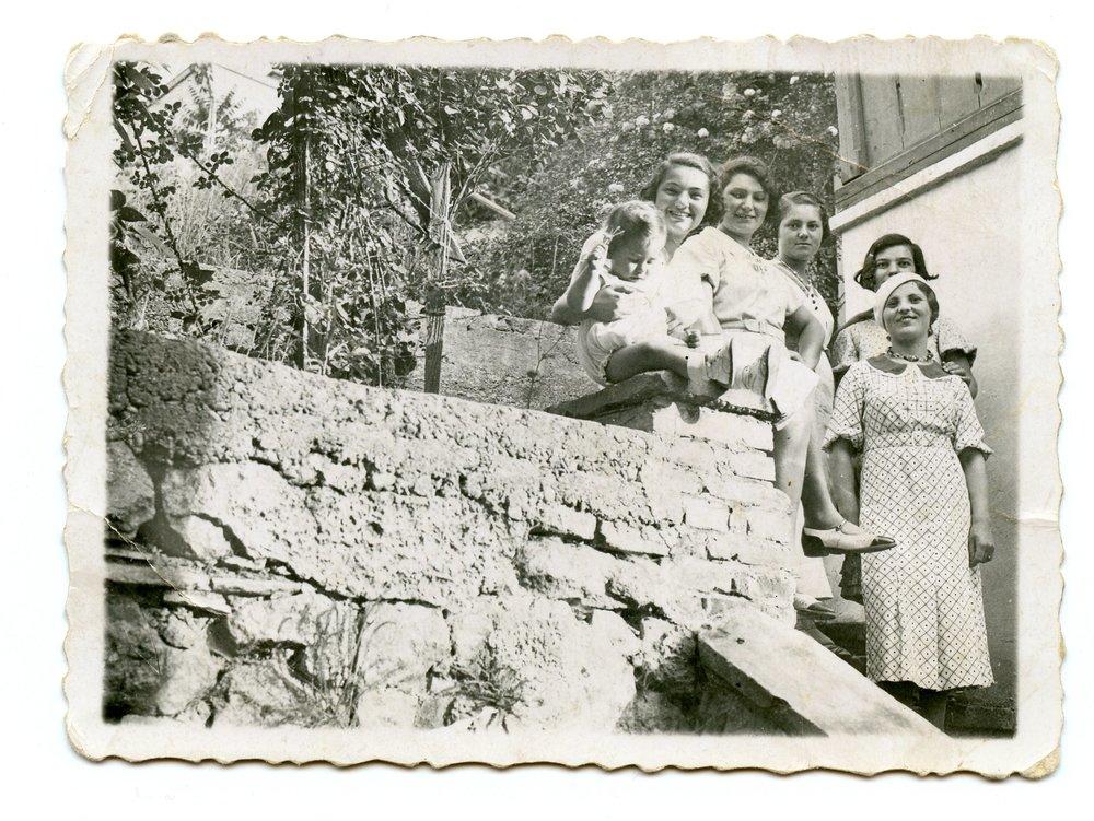 1933 - Ernest's family, Czechoslovakia