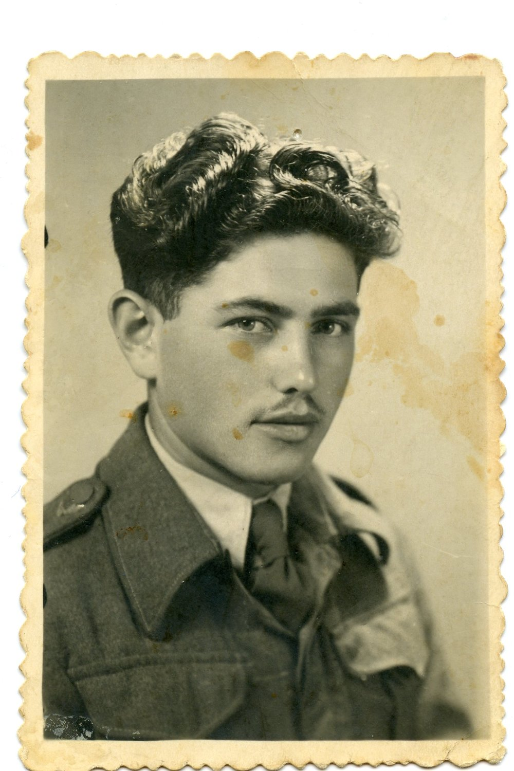 1949 - Aron in the Israeli Army