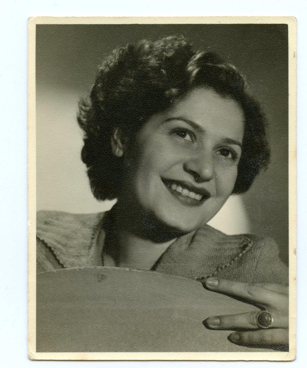 1950 - Agnes in Tel Aviv