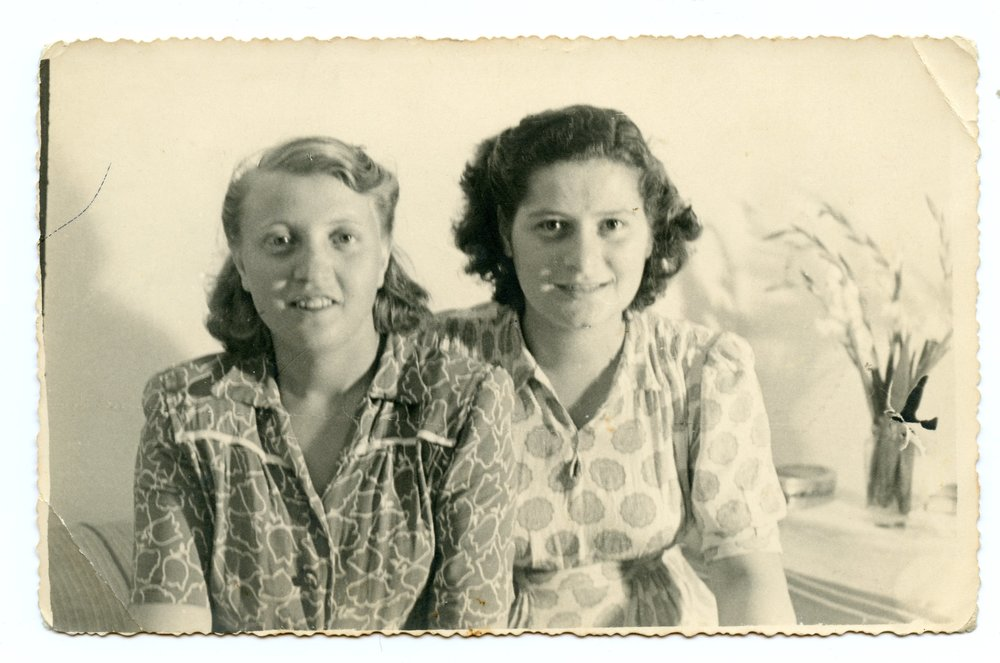 1946 - Agnes' first picture in Israel