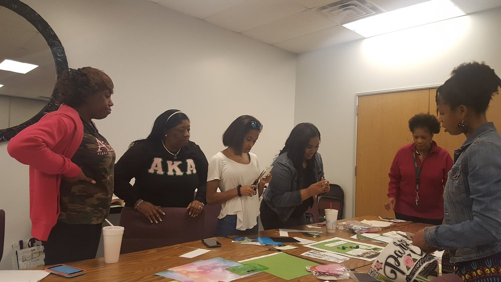 Scrapbooking with Omicron Mu Omega
