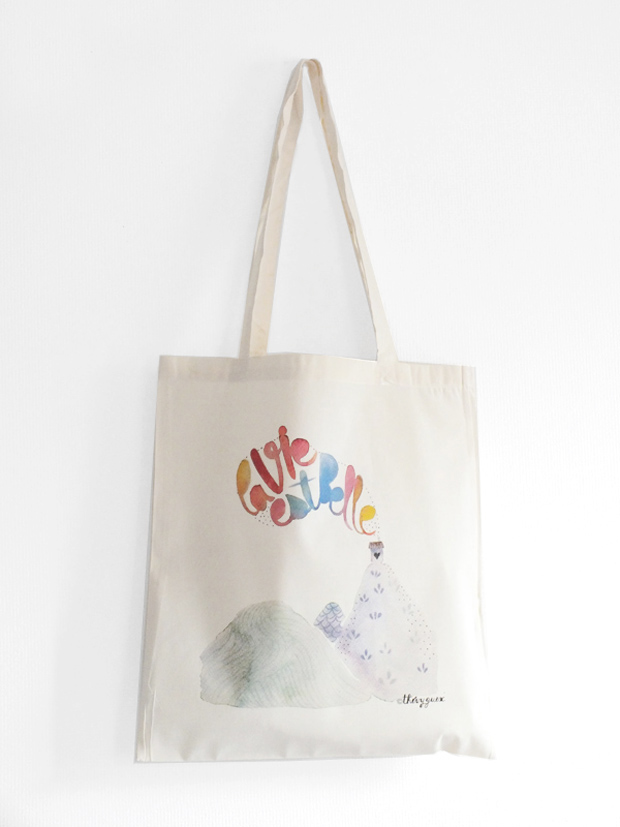 Thevy Guex, Tote bag, 25 $