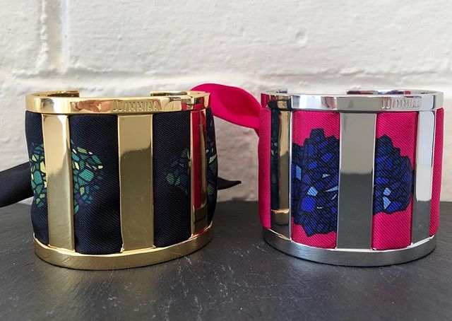 Still looking for a perfect Xmas gift 🎁 ? Why not buy a French one like these beautiful cuffs by #anneeparis ? @luceandarmelle www.luceandarmelle.com #madeinfrance #customjewelry