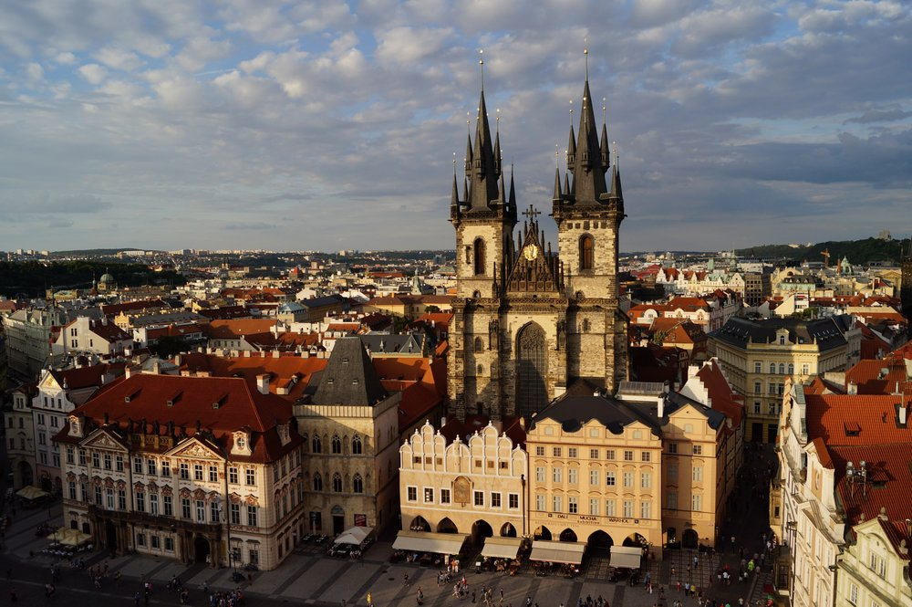 prague castle off the grid