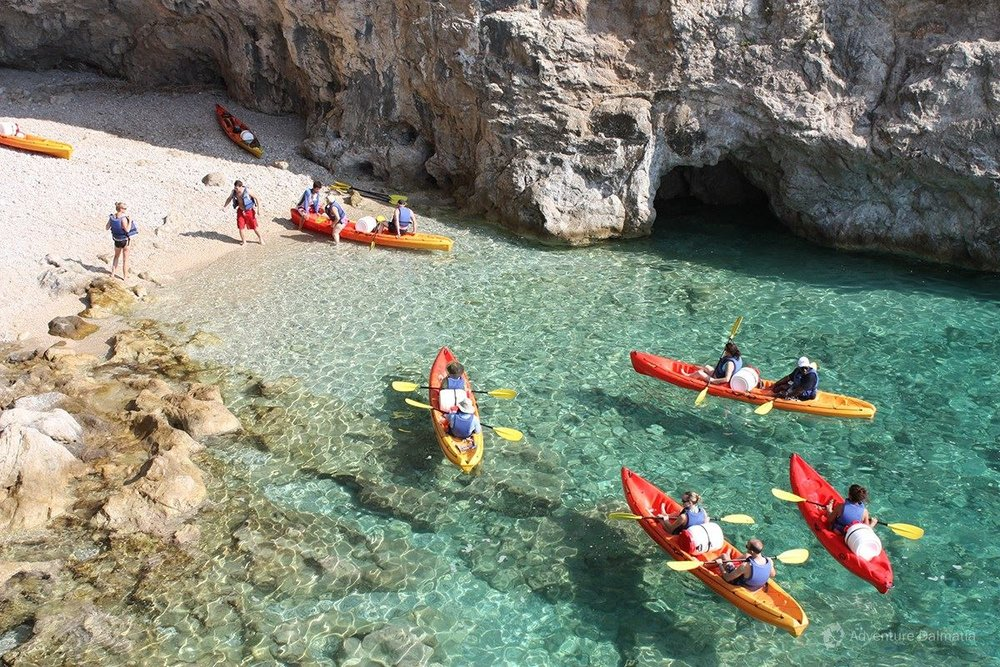 off the grid kayak croatia