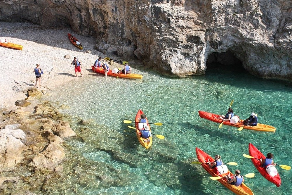 off the grid hvar kayak