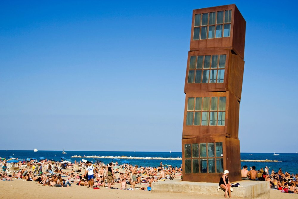 off the grid barcelona beach