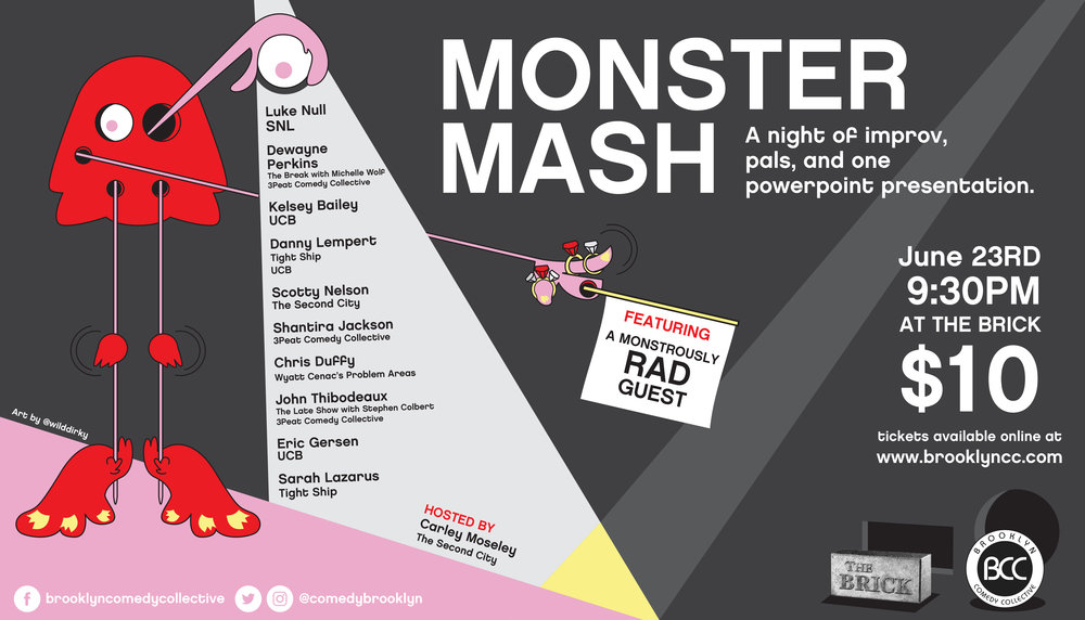Monster Mash 2018 brooklyn comedy collective