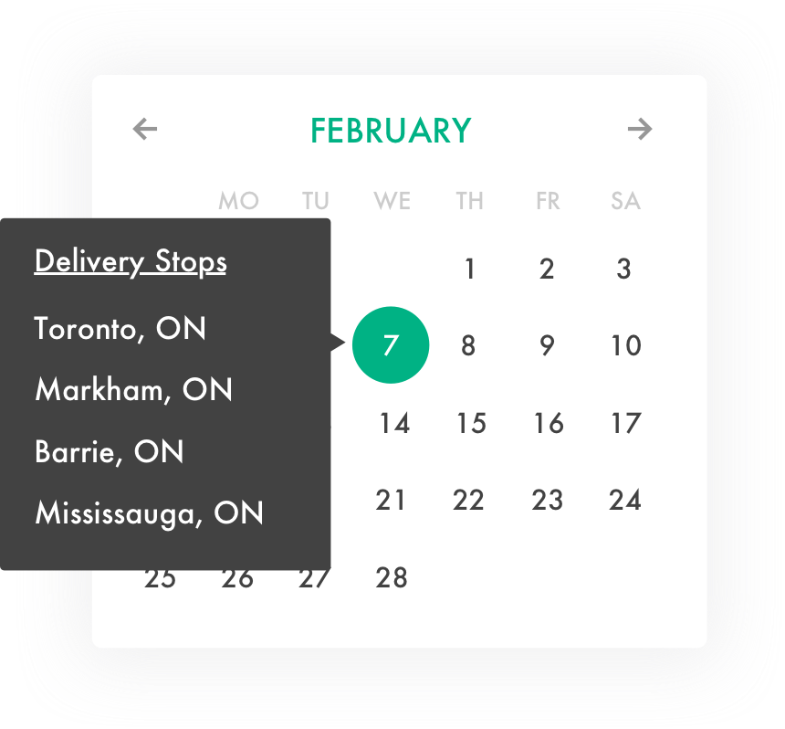 Reduce Order Errors - Manually tracking orders causes mistakes. As orders roll in, you can download pick lists and schedule deliveries.
