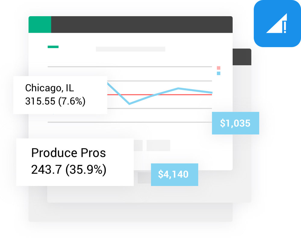 Business insights - Get detailed information about your food hub, including sales totals and targets along with customer and location analytics. Export all data to Excel or PDF.
