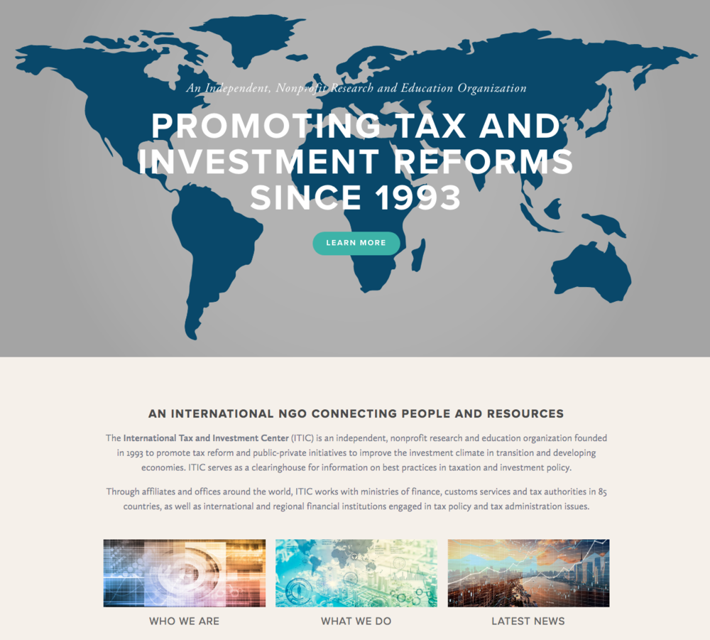 Weekly round up international tax and investment center itics redesigned website gumiabroncs Images