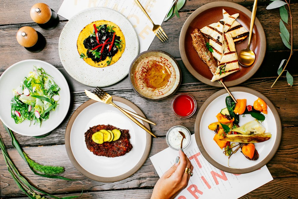 Sundowners Feast Table Spread