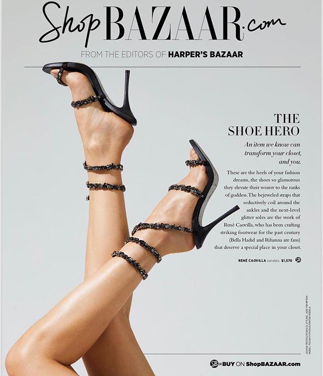 The #heels fashion dreams are made of by @renecaovilla on @shopbazaar. #fashionphotographer @joshua.pestka