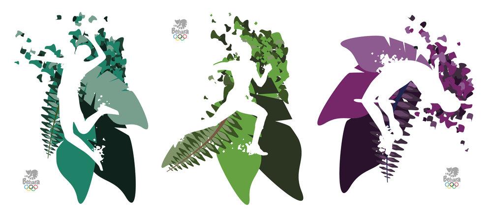 Posters designed using Adobe Illustrator