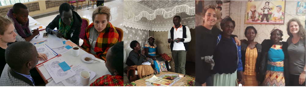 "The Solar Team ""Solar Chama"": Lydia Muthanje (Kenya), Kelvin Mwangi (Kenya), John Jal (South Sudan), Charlotte Castelnau (France), Claudia Cuevas (Spain). Design Facilitators: Alois Mbutura & Roy Ombatti (kenya)"