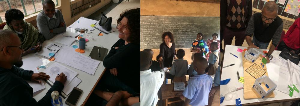 "The Financial Education Team ""Solar Chama"": Grace Marigu (Kenya), Harriet (Kenya), Ilana Kaplan (Australia), Joshua Musyoka (Kenya), Nancy Wakine (Kenya), Umair Anwar (Pakistan). Design Facilitator: Hamid Mehmood (Pakistan)"