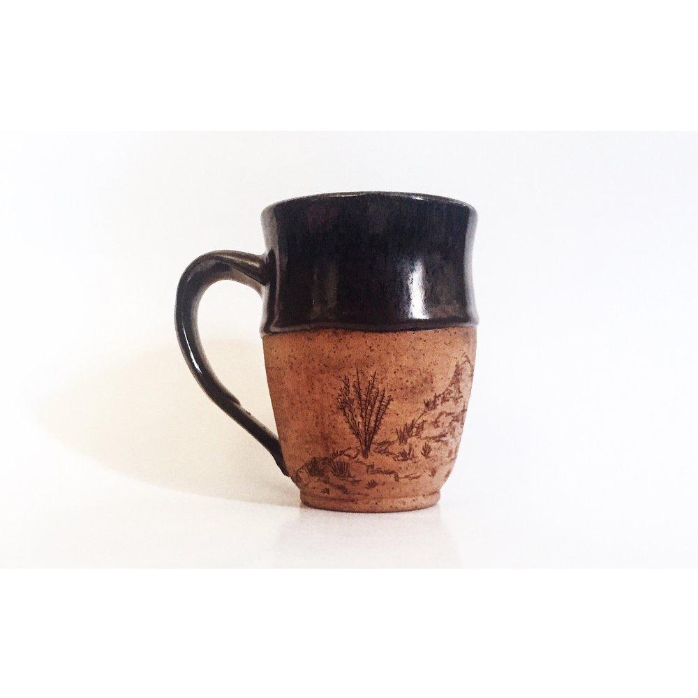 Ocotillo Desert Mug