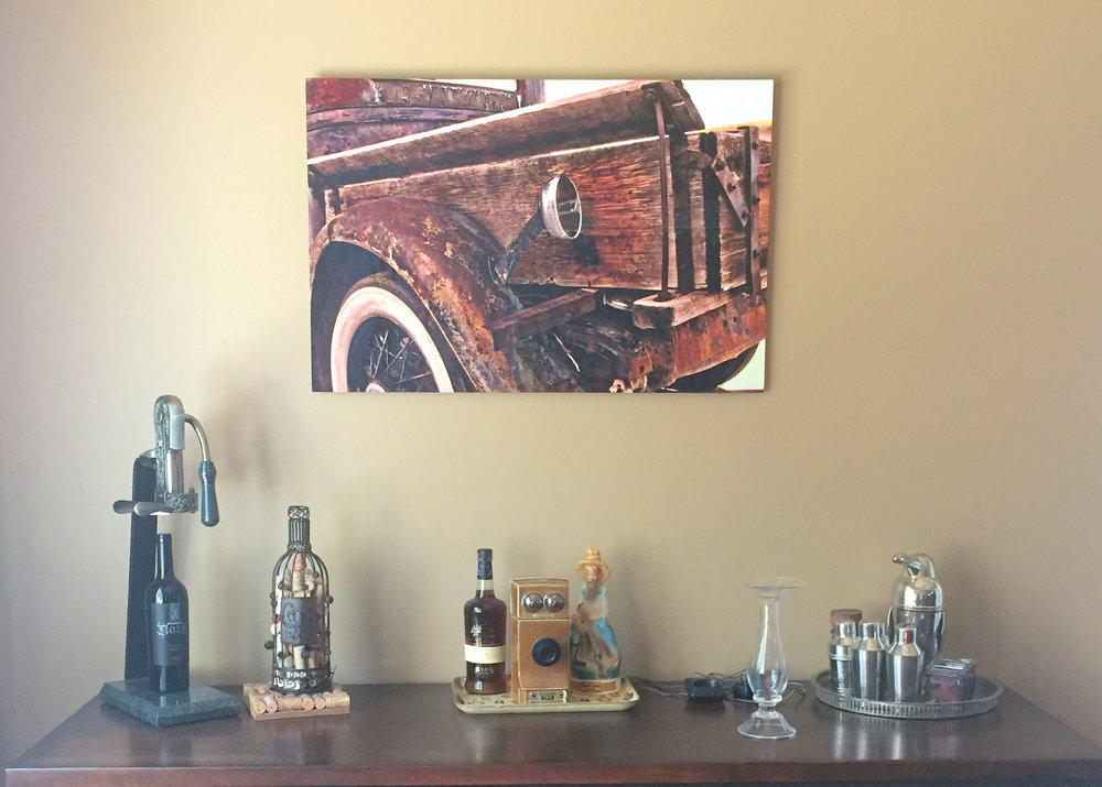 Orval's Used Cars - Print on Aluminum Sheet - Residence