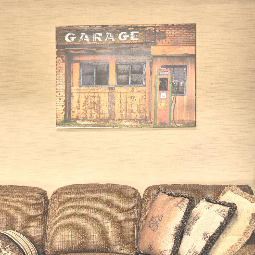 Main Street Scipio - Canvas Print - Residence