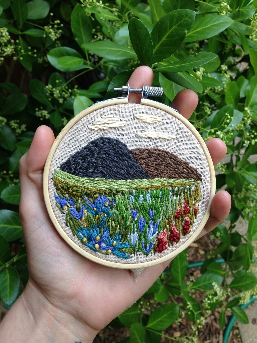 Basic Embroidery Stitches -