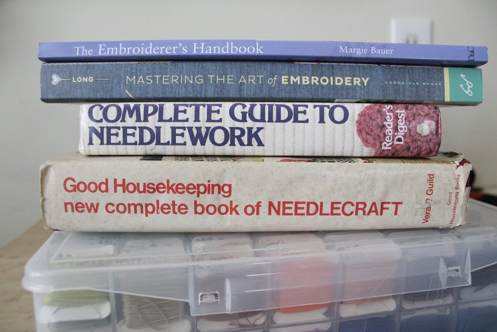 My Favorite Embroidery Books -