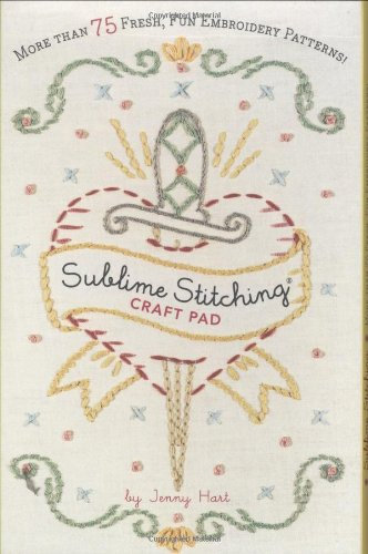 - This was the first book I ever got as a present from my best friend when I was teaching myself embroidery. This has embroidery stencils in it that are super cute and simple and you can iron them on to fabric. Definitely a go to!